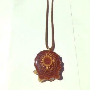 Third eye Pine cone  pendant